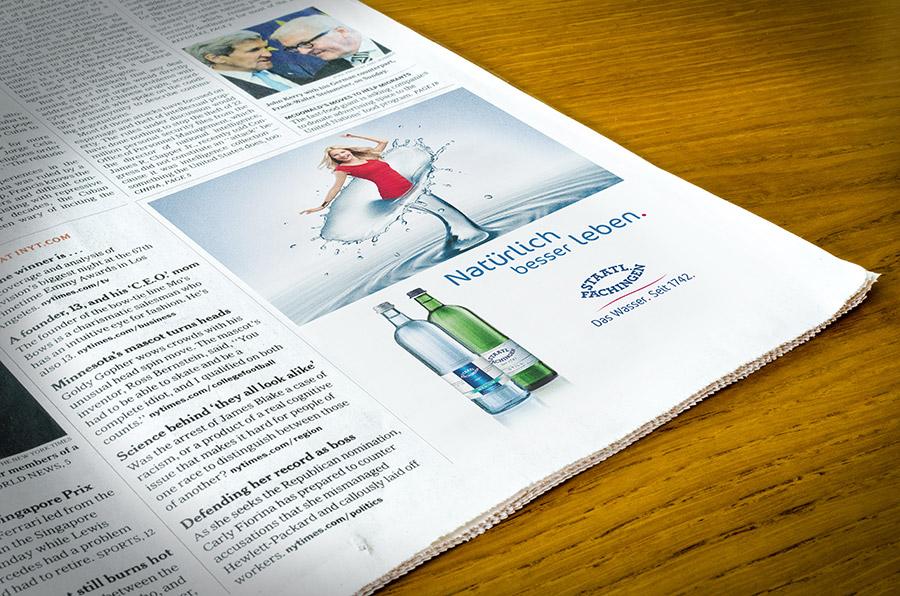 STAATL. FACHINGEN, diverse Anzeigen Magazin und Zeitung