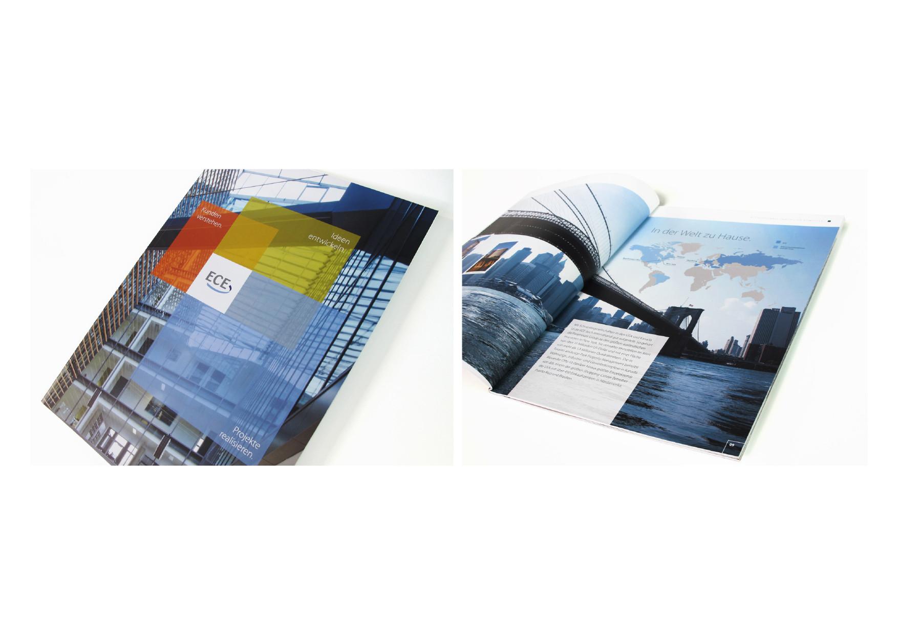 ece projektmanagement gmbh imagebroschre oti talkpoint - Imagebroschure Beispiele