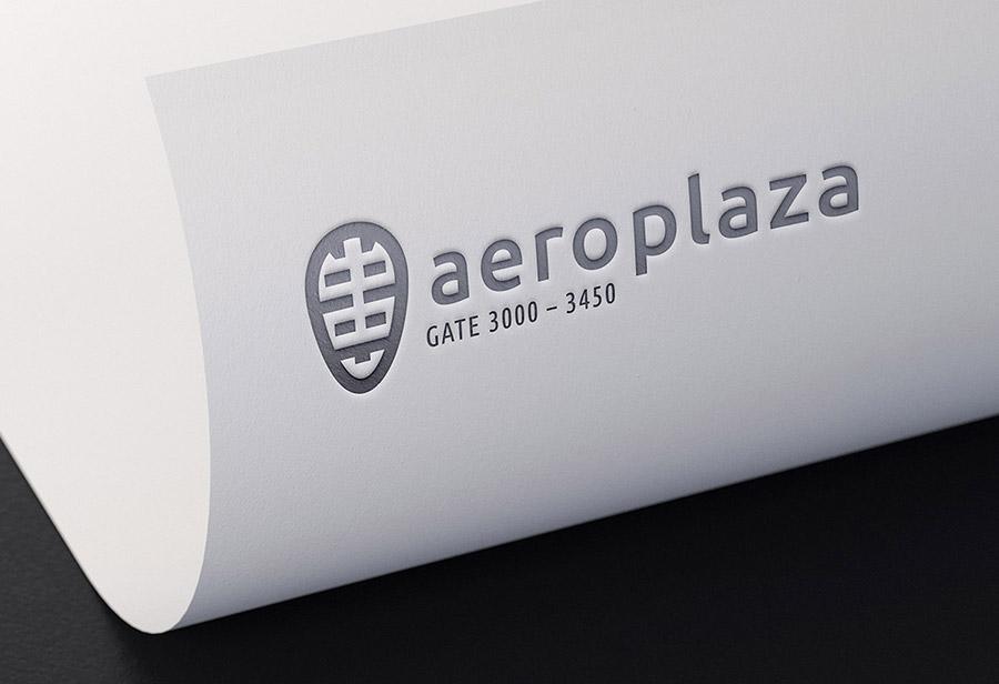 "Logo ""Aeroplaza Eindhoven"", UNION INVESTMENT REAL ESTATE GmbH, Entwurf 1"