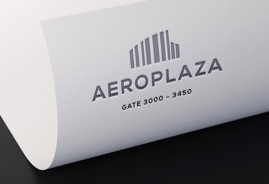 "Logo ""Aeroplaza Eindhoven"", UNION INVESTMENT REAL ESTATE GmbH, Entwurf 2"