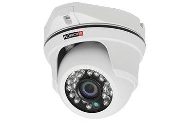 DI-380AHDE36 DI-380AHDE36 AHD IR DOME CAMERA FIXED LENS 1.3 Mega-Pixel 720P AHD/Analog 24 LED (15m)