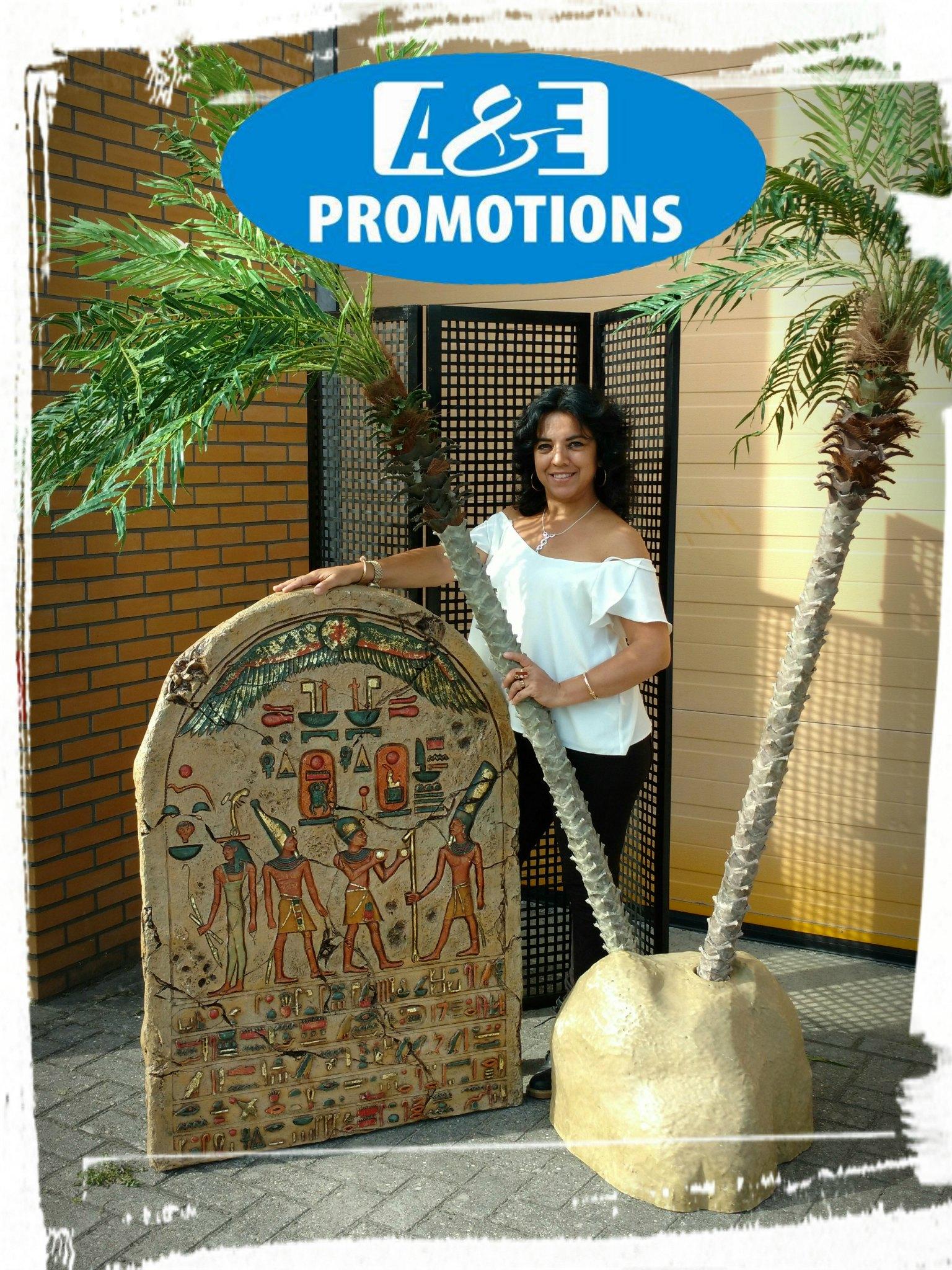 3D PLAQUETTE EGYPTE EUR 55,00 & PALMSETS IN DIVERSE UITVOERINGEN V.A. EUR 45,00