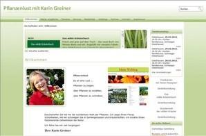 Pflanzenlust mit Karin Greiner