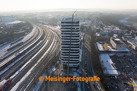 Baustellendokumentation SKY Hochhaus von  Meisinger-Fotografie
