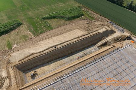 Luftbilder Rutesheim, Stuttgart und Umgebung, Baustellendokumentation