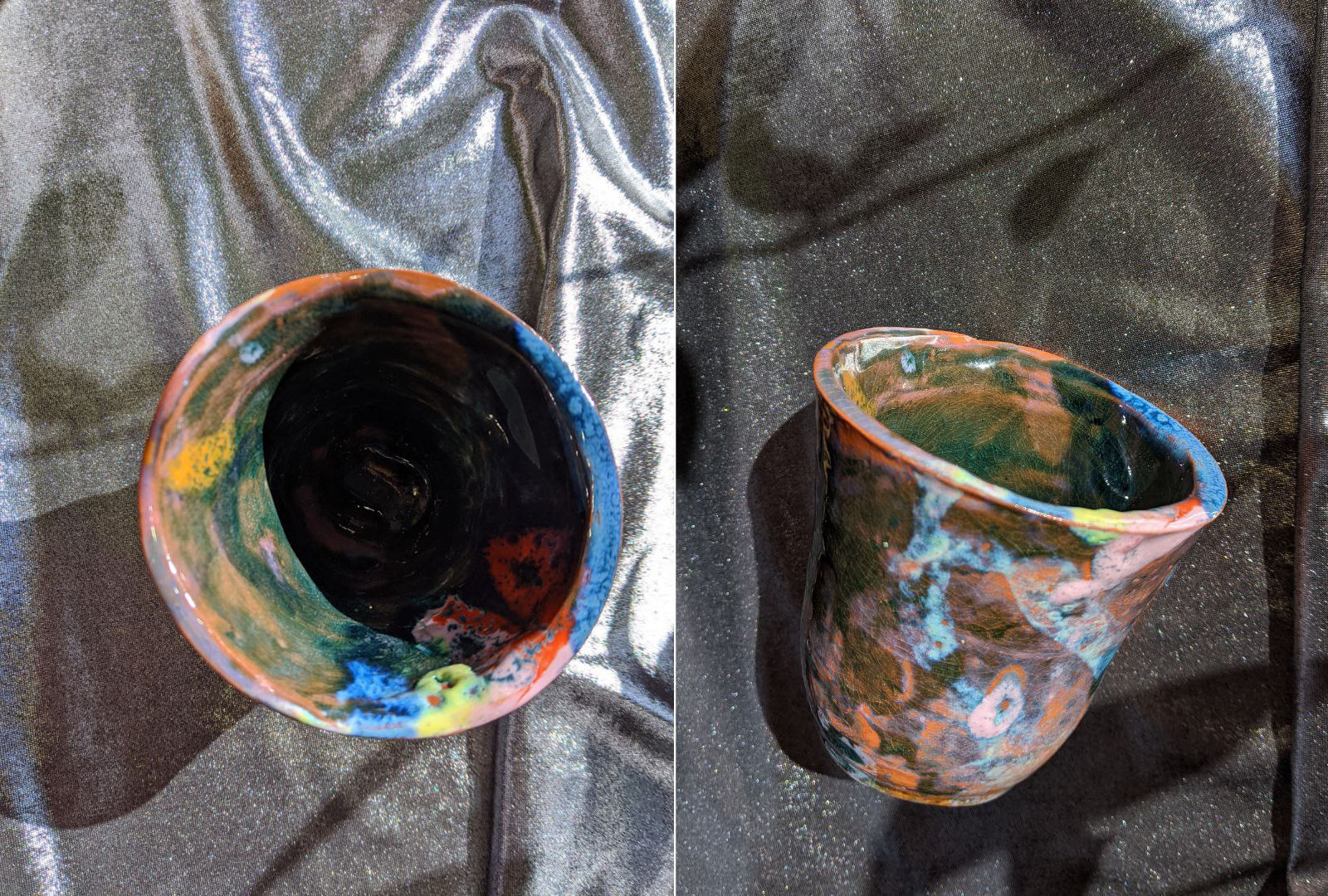 "Cup ""some happenings"", ~85 mm height ~82 mm width, SEP 2020"