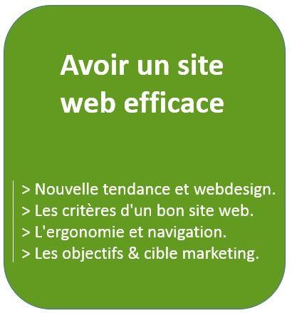 Audit et Conseil sur comment avoir un site web efficace : webdesign, ergonomie, navigation et objectif marketing