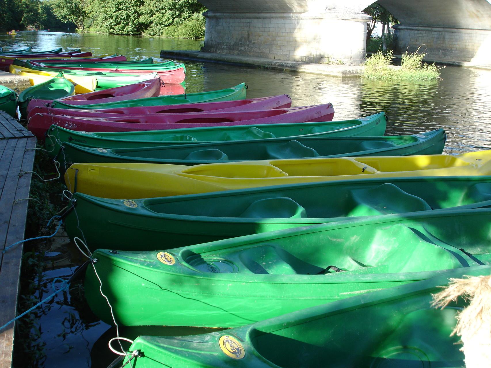 Club de Canoe à Aubeterre