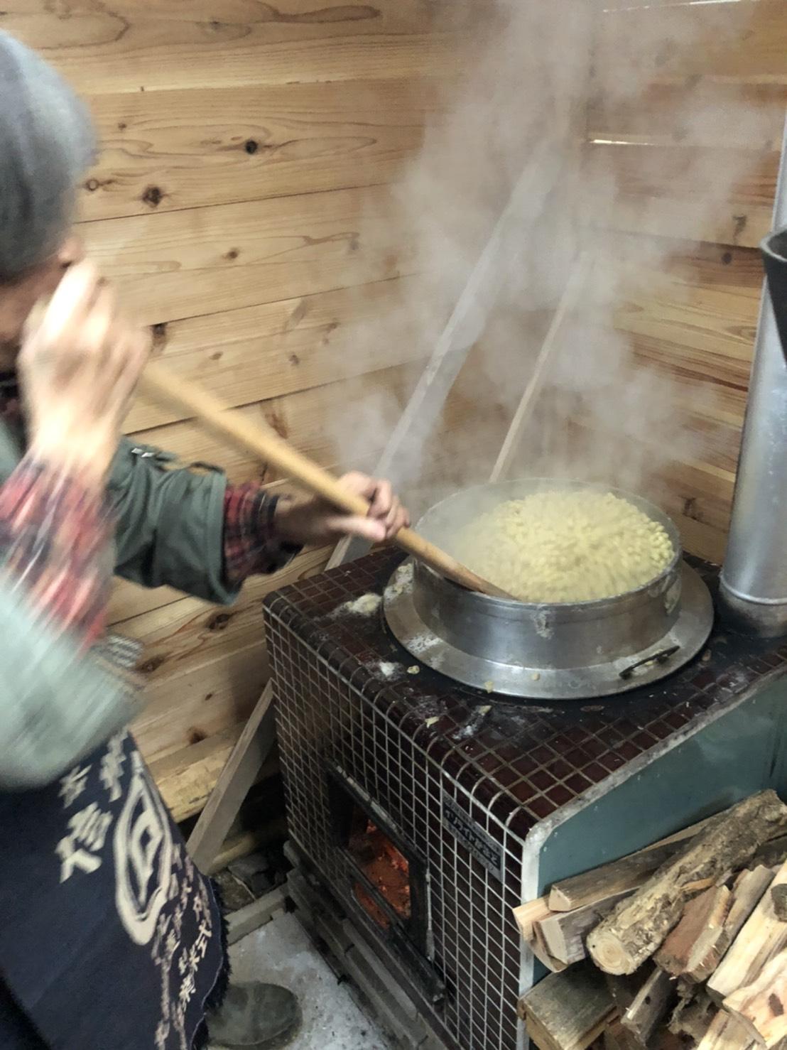 津久井在来種の大豆で味噌づくり