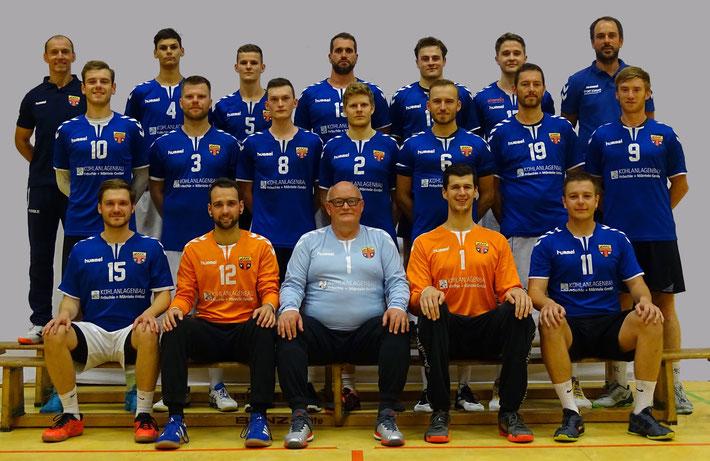 Männer 2  - Bezirksklasse 3. Spieltag Saison 2021/22 SG He-Li 2 - TV Reichenbach 2  27:20  (13:13)