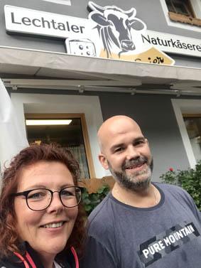 Nicole mit Kurt Sojer
