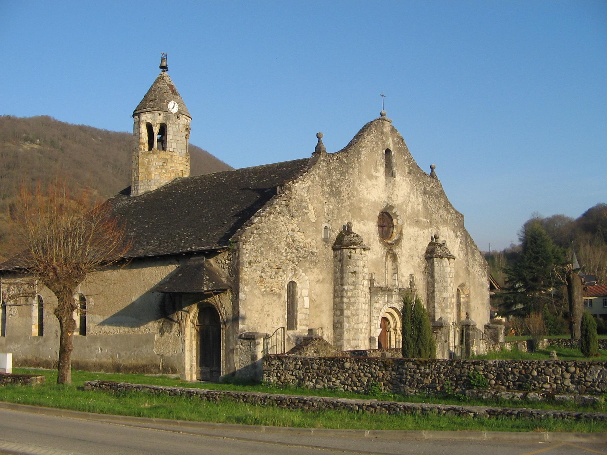 Eglise Luzenac de Moulis