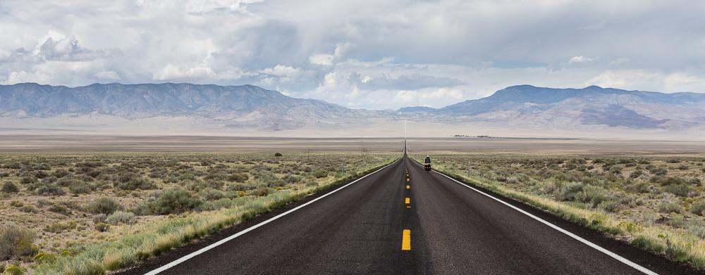 Die nächsten paar Hundert Kilometer wird es genau so aussehen. Utah, USA 8/2014