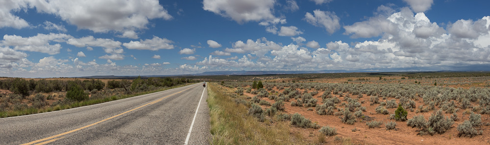 On the Western Express near Monticello. Utah, USA 8/2014