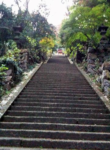 太平山神社 階段