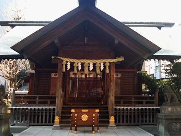 藏前神社 社殿
