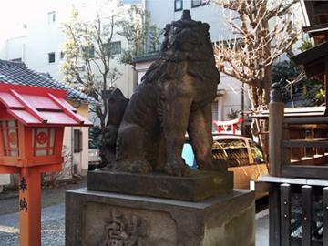 藏前神社 狛犬