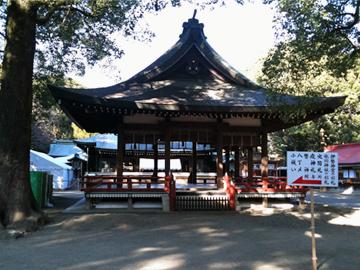 氷川神社 舞殿