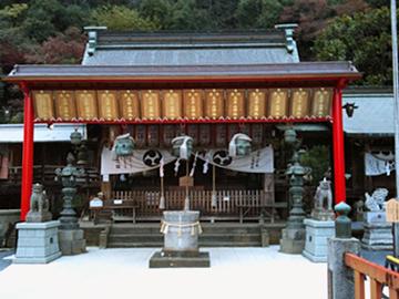 太平山神社 拝殿