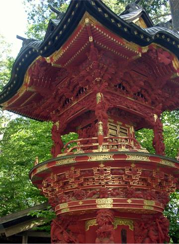 三峯神社 灯篭