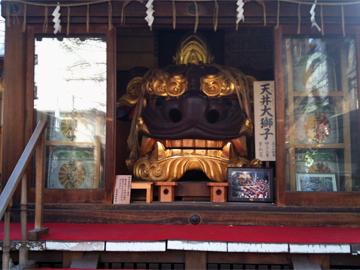 波除稲荷神社 獅子殿