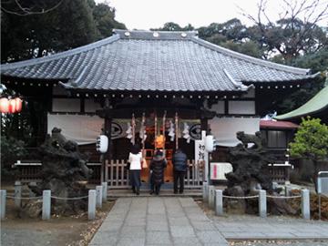 平塚神社 社殿