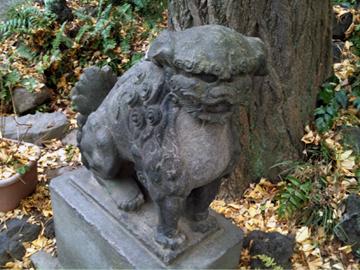 王子稲荷神社 市杵島神社 狛犬
