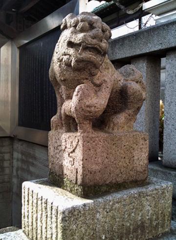 鐵砲洲稲荷神社 狛犬