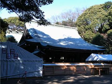 氷川神社 拝殿