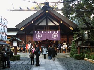 東京大神宮 拝殿