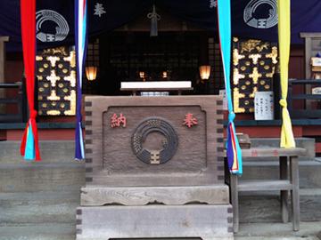 王子稲荷神社 神紋