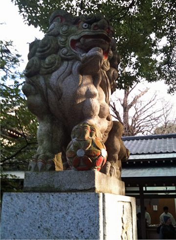 王子神社 狛犬
