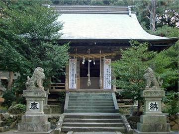草薙神社 拝殿