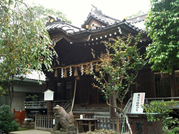 白山神社 社殿