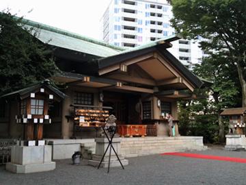 東郷神社 拝殿