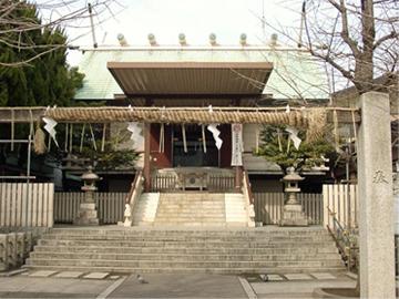 深川神明宮 社殿