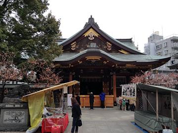 湯島天神(湯島天満宮) 社殿