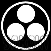 住吉神社 神紋 丸に三つ星