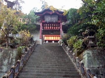 太平山神社 神門