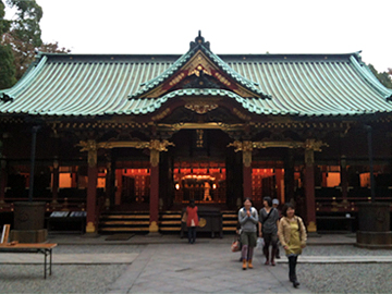 根津神社 社殿