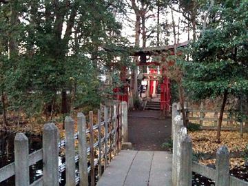 調神社 旧本殿 稲荷神社