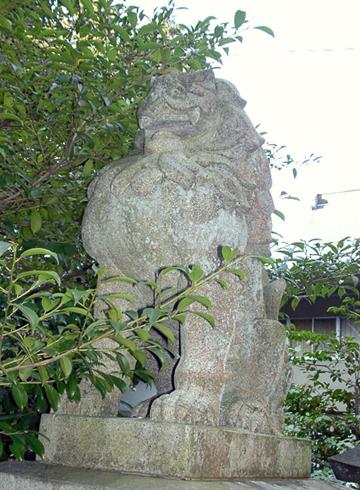 草薙神社 狛犬