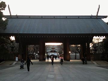 靖國神社 神門