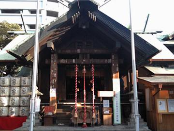 波除稲荷神社 社殿