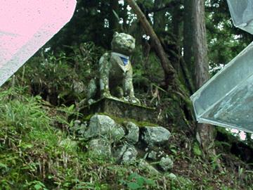 三峯神社 狛狼