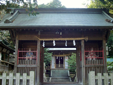 草薙神社 神門