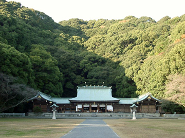 静岡縣護國神社 拝殿