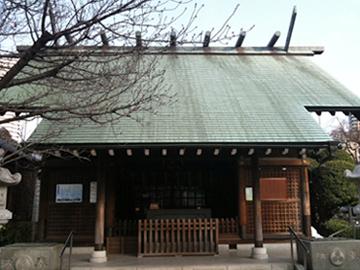 住吉神社 社殿