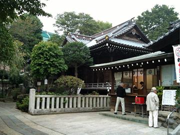 白山神社 社務所