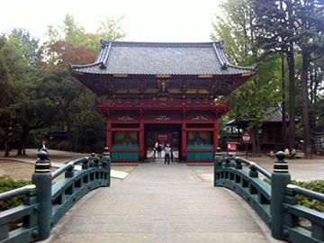 根津神社 神橋 楼門